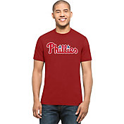 '47 Men's Philadelphia Phillies MVP Splitter Red T-Shirt