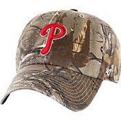 '47 Men's Philadelphia Phillies Realtree Camo Clean Up Adjustable Hat