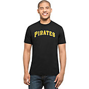 '47 Men's Pittsburgh Pirates MVP Splitter Black T-Shirt