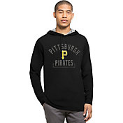 '47 Men's Pittsburgh Pirates Black Downfield Long Sleeve Shirt