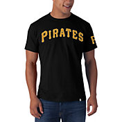 '47 Men's Pittsburgh Pirates Black Fieldhouse T-Shirt