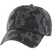'47 Men's Pittsburgh Pirates Flintlock Franchise Camo Fitted Hat