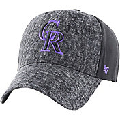 '47 Men's Colorado Rockies Zonda MVP Black Adjustable Hat
