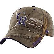 '47 Men's Colorado Rockies Realtree Camo Frost MVP Adjustable Hat