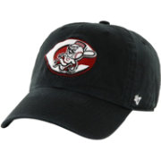 '47 Men's Cincinnati Reds Clean Up Black Adjustable Hat