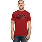 '47 Men's Cincinnati Reds MVP Splitter Red T-Shirt