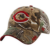 '47 Men's Cincinnati Reds Realtree Camo Adjustable Hat