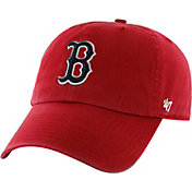 '47 Men's Boston Red Sox Clean Up Red Adjustable Hat