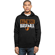 '47 Men's Baltimore Orioles Black Headline Pullover Hoodie