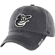 '47 Men's Baltimore Orioles Nightfall Closer Grey Fitted Hat