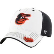 '47 Men's Baltimore Orioles Rockford Closer Black/White Fitted Hat