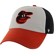 '47 Men's Baltimore Orioles Franchise White/Black Fitted Hat