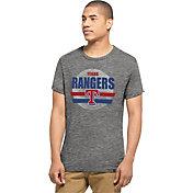 '47 Men's Texas Rangers Tri-State Grey Tri-Blend T-Shirt