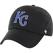 '47 Men's Kansas City Royals Franchise Black Fitted Hat