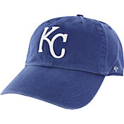 '47 Men's Kansas City Royals Clean Up Royal Adjustable Hat