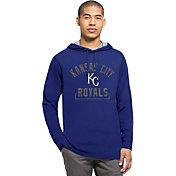 '47 Men's Kansas City Royals Royal Downfield Long Sleeve Shirt