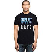 '47 Men's Tampa Bay Rays Navy Club T-Shirt