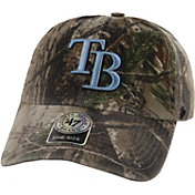 '47 Men's Tampa Bay Rays Realtree Camo Clean Up Adjustable Hat