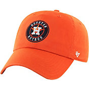 '47 Men's Houston Astros Orange Clean Up Adjustable Hat