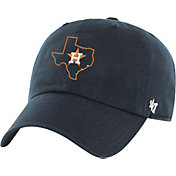 '47 Men's Houston Astros Navy Clean Up Adjustable Hat