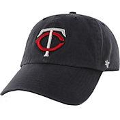 '47 Men's Minnesota Twins Navy Clean Up Adjustable Hat