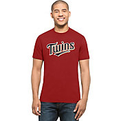 '47 Men's Minnesota Twins MVP Splitter Red T-Shirt
