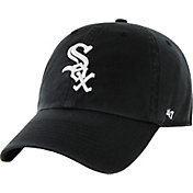 '47 Men's Chicago White Sox Clean Up Black Adjustable Hat