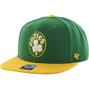 '47 Men's Boston Celtics Sure Shot Green 2-Tone Adjustable Snapback Hat