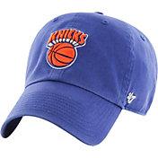 '47 Men's New York Knicks Hardwood Classic Clean Up Royal Adjustable Hat
