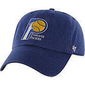 '47 Men's Indiana Pacers Hardwood Classic Clean Up Navy Adjustable Hat