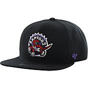 '47 Men's Toronto Raptors Shaft Black Adjustable Snapback Hat
