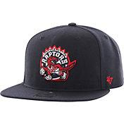 '47 Men's Toronto Raptors Sure Shot Navy Adjustable Snapback Hat