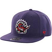 '47 Men's Toronto Raptors Sure Shot Purple Adjustable Snapback Hat