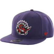 '47 Men's Toronto Raptors Sure Shot Purple Adjustable Snapback Hat