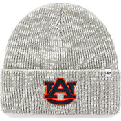 '47 Men's Auburn Tigers Heathered Grey Brain Freeze Cuffed Knit