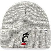'47 Men's Cincinnati Bearcats Heathered Grey Brain Freeze Cuffed Knit