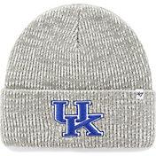 '47 Men's Kentucky Wildcats Heathered Grey Brain Freeze Cuffed Knit
