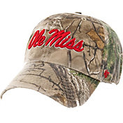 '47 Men's Ole Miss Rebels Camo Clean Up Adjustable Hat
