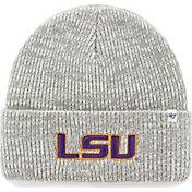 '47 Men's LSU Tigers Heathered Grey Brain Freeze Cuffed Knit