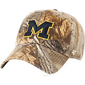 '47 Men's Michigan Wolverines Realtree Camo Adjustable Hat