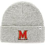 '47 Men's Maryland Terrapins Heathered Grey Brain Freeze Cuffed Knit