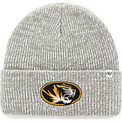 '47 Men's Missouri Tigers Heathered Grey Brain Freeze Cuffed Knit