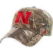 '47 Men's Nebraska Cornhuskers Camo Clean Up Adjustable Hat