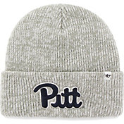 '47 Men's Pittsburgh Panthers Heathered Grey Brain Freeze Cuffed Knit
