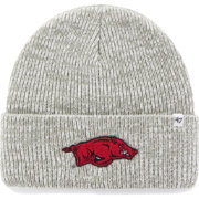 '47 Men's Arkansas Razorbacks Heathered Grey Brain Freeze Cuffed Knit