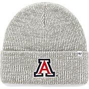 '47 Men's Arizona Wildcats Heathered Grey Brain Freeze Cuffed Knit