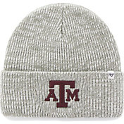 '47 Men's Texas A&M Aggies Heathered Grey Brain Freeze Cuffed Knit