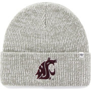 '47 Men's Washington State Cougars Heathered Grey Brain Freeze Cuffed Knit