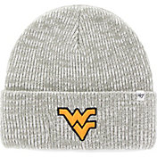 '47 Men's West Virginia Mountaineers Heathered Grey Brain Freeze Cuffed Knit