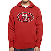 '47 Men's San Francisco 49ers MVP Headline Pullover Red Hoodie